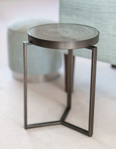 End table designed by Koubou Interiors