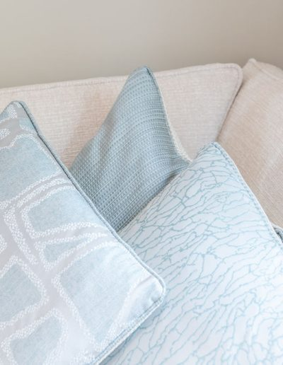Cushions designed by Koubou Interiors