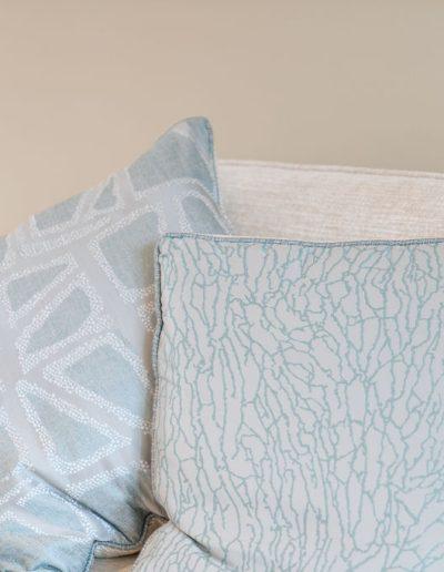 Cushion designs for living room - Koubou Interiors