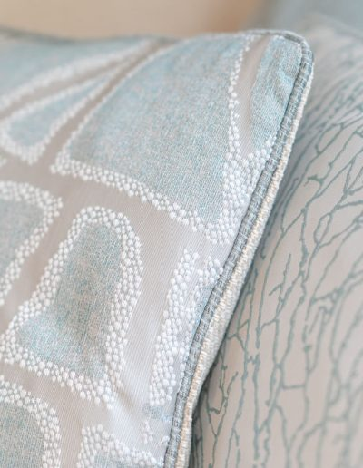 Contemporary cushions - designed by Koubou Interiors