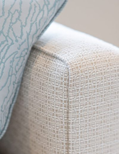 cushions and fabric for living room
