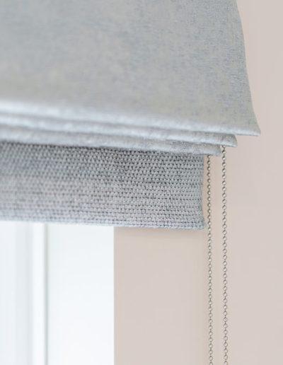 custom blinds in Berkshire - living room renovation