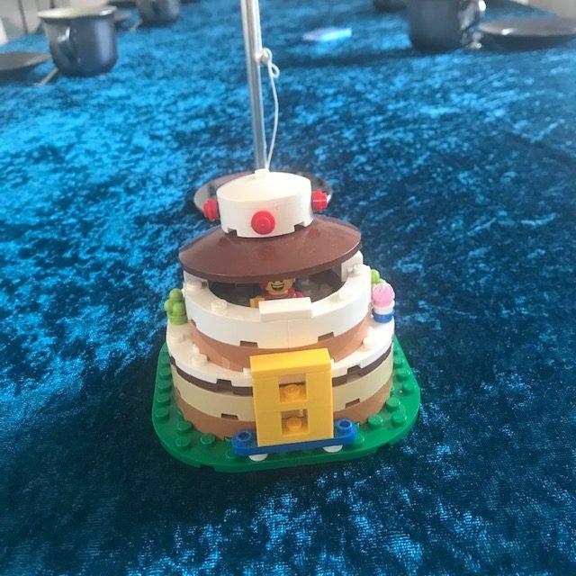 LEGO fødselsdagskage