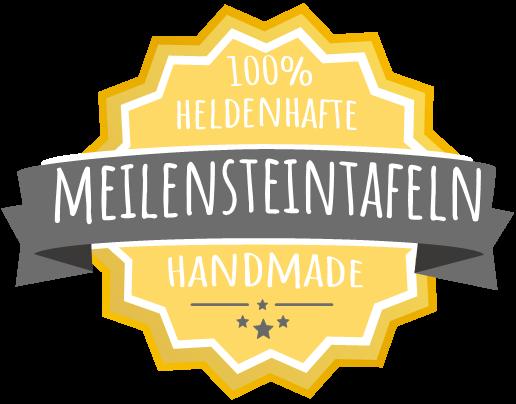 Meilensteintafel Chalkboard Handmade