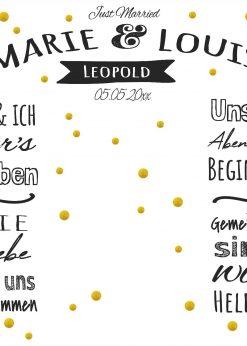 Meilensteintafel Wedding Backdrop Kreide Hochzeit Foto Hintergrund Weiß Banner Gold Bubbles Chalkboard Personalisiert V9 Love Vintage Pb