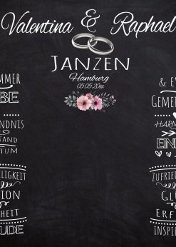 Meilensteintafel Wedding Backdrop Personalisiert Hochzeit Foto Kreide Hintergrund Chalkboard Personalisiert V13 Liebe Vereint (1)