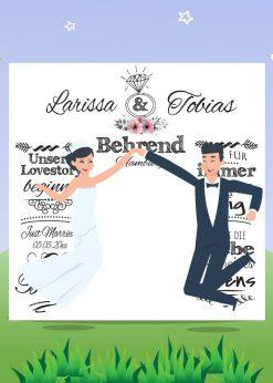 Meilensteintafel Wedding Backdrop Personalisiert Hochzeit Foto Kreide Hintergrund Weiß Banner Whiteboard Chalkboard V12 Liebe Pb