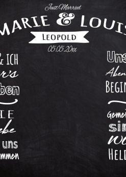 Meilensteintafel Wedding Backdrop Personalisiert Kreide Hochzeit Foto Hintergrund Chalkboard V9 Love Vintage (1)