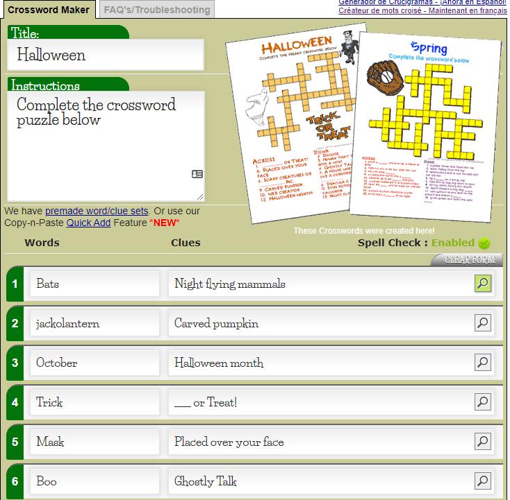 Kreuzworträtsel Mit Lösungswort