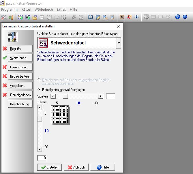 Kreuzworträtsel erstellen software
