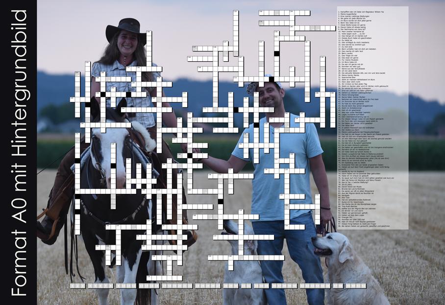 Kreuzworträtsel erstellen