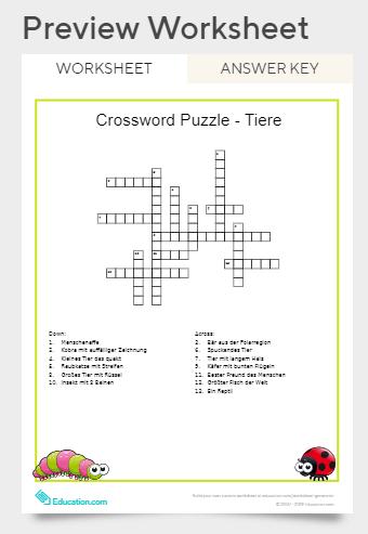 Kreuzworträtsel online erstellen