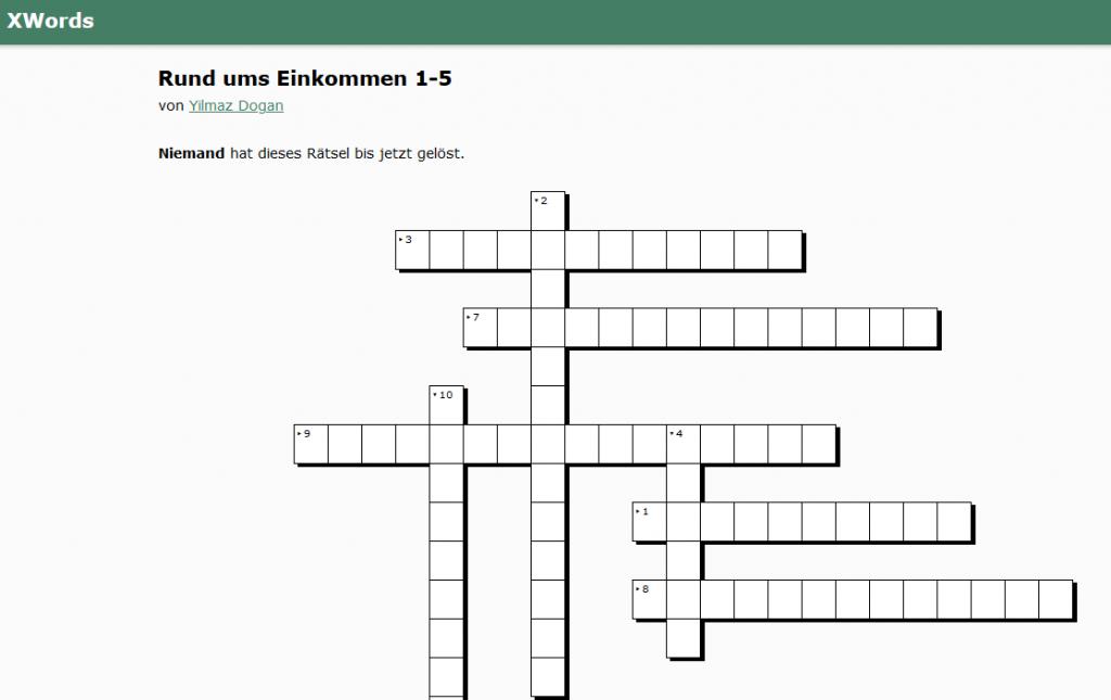 Kreuzworträtsel erstellen download