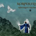 Bokomslag affisch 100x70 - Kristallens Väktare - Korpen flyger - Amanda Lindqvist