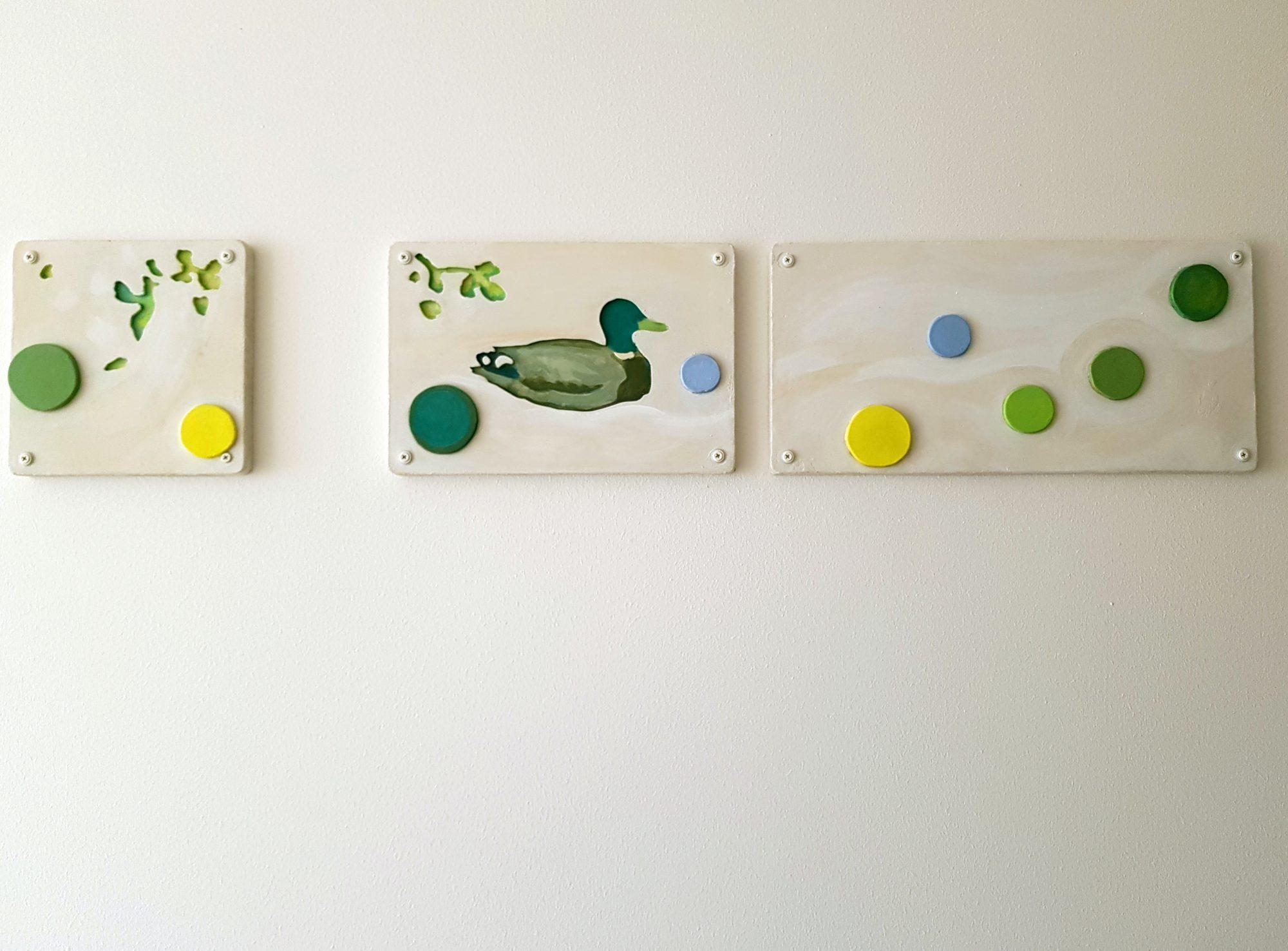 Vån-2 Fåglar och färger Kristina Nilsdotter 2019