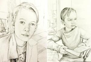 Två små porträtt