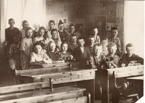 Storskolan omkring 1920