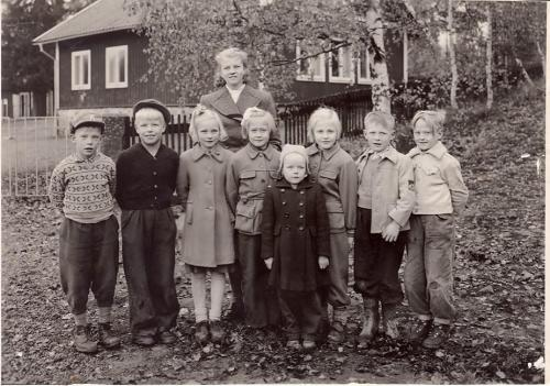 1952. Lärare Ethel Öhlin
