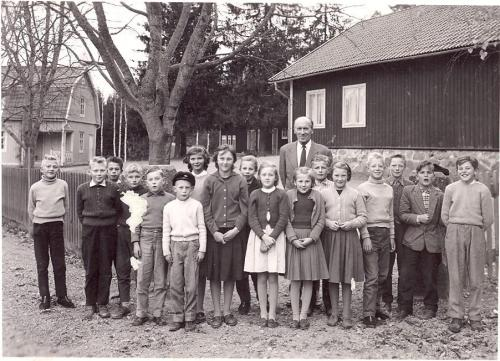 Storskolan 1961.Lärare Edvard Tui.