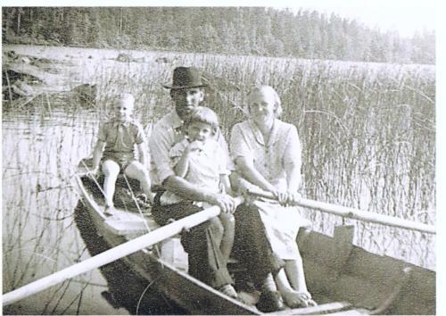 Familjen Svensson Sund 1957