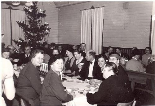 Julfest i missionshuset