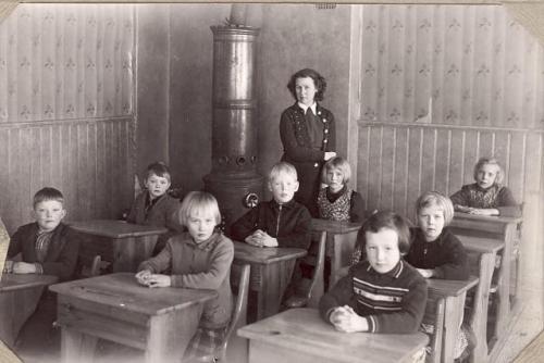 Småskolan 1942