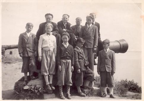 Skolresa till Kalmar 1951.