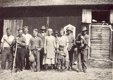 Tröskning 1932