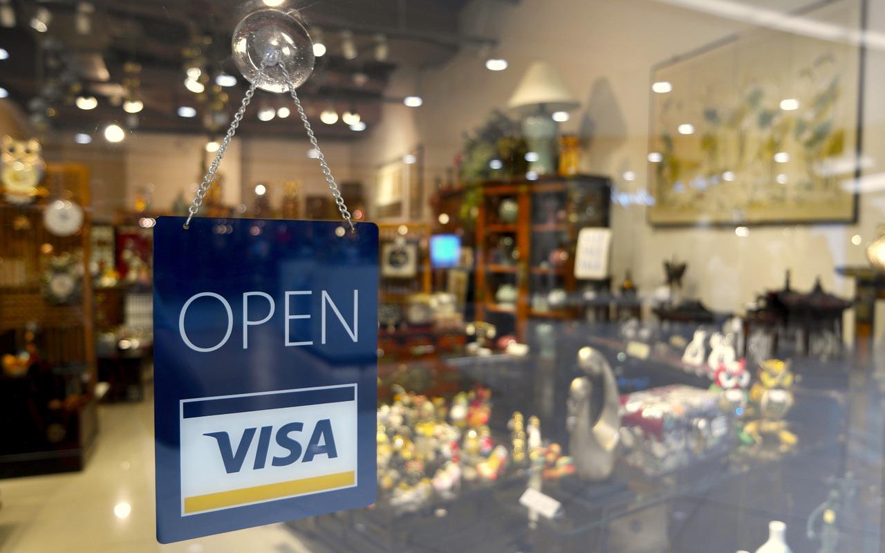 Visa Zahlungen und Kryptowährungen