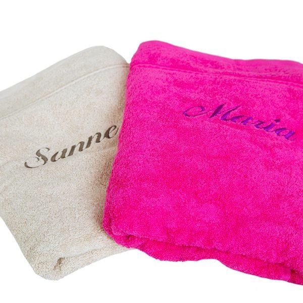 Luksus håndklæde med navn
