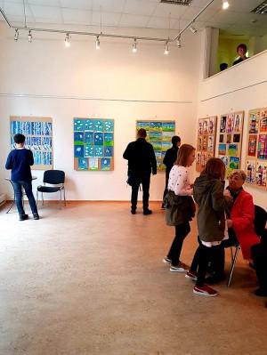 Выставка выпускных работ юных соотечественников