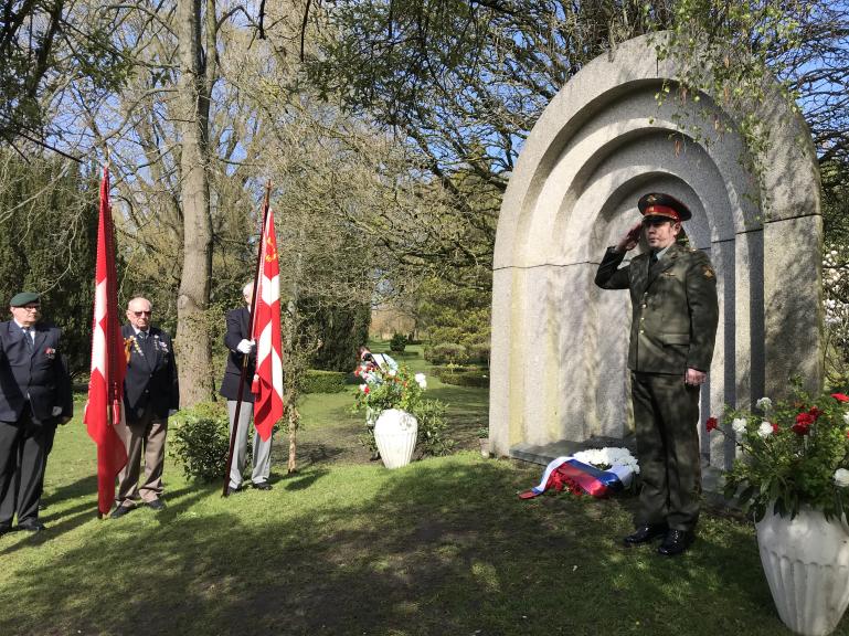 О мероприятиях по случаю Дня Победы в Копенгагене
