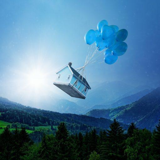 Kan hus flyga