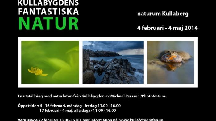 Kullafotografens utställning på naturum Kullaberg - fotograf Höganäs