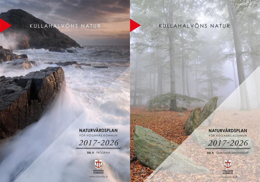 Kullafotografen fotograf foto som omslag till Höganäs kommuns naturvårdsplan