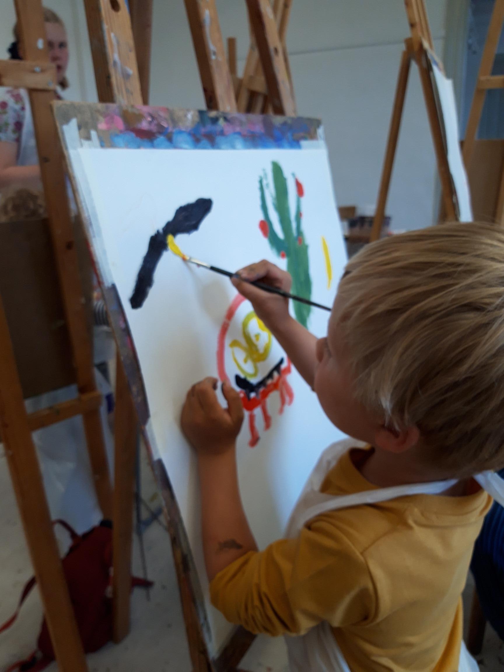 Aktivitet: Måleri (för barn)