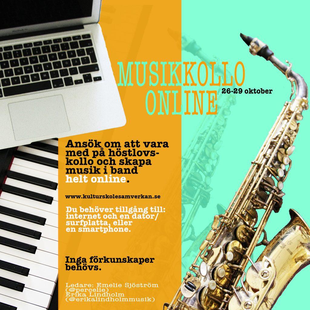 Örebro läns första musikkollo-online!