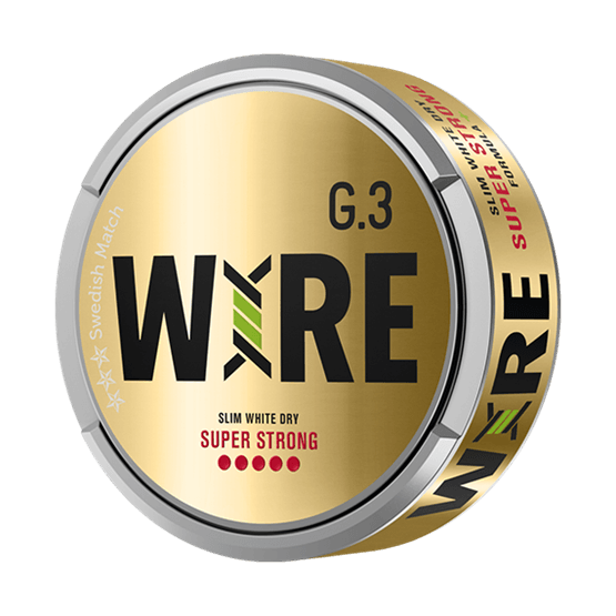 general-g-3-wire-slim-white-dry-super-strong-portionssnus