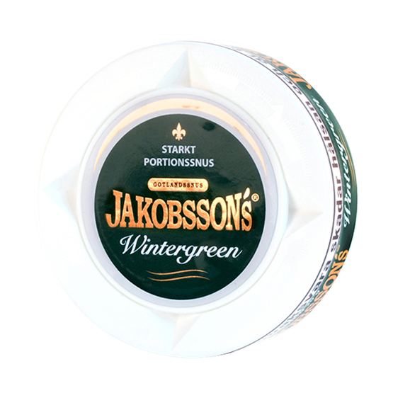 jakobssons-wintergreen-strong-portionssnus