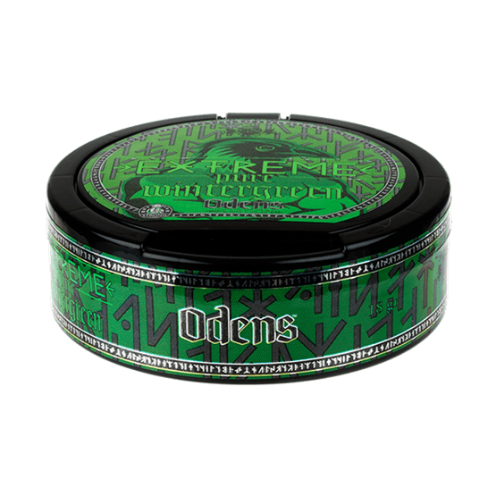 odens-extreme-pure-wintergreen-portionssnus