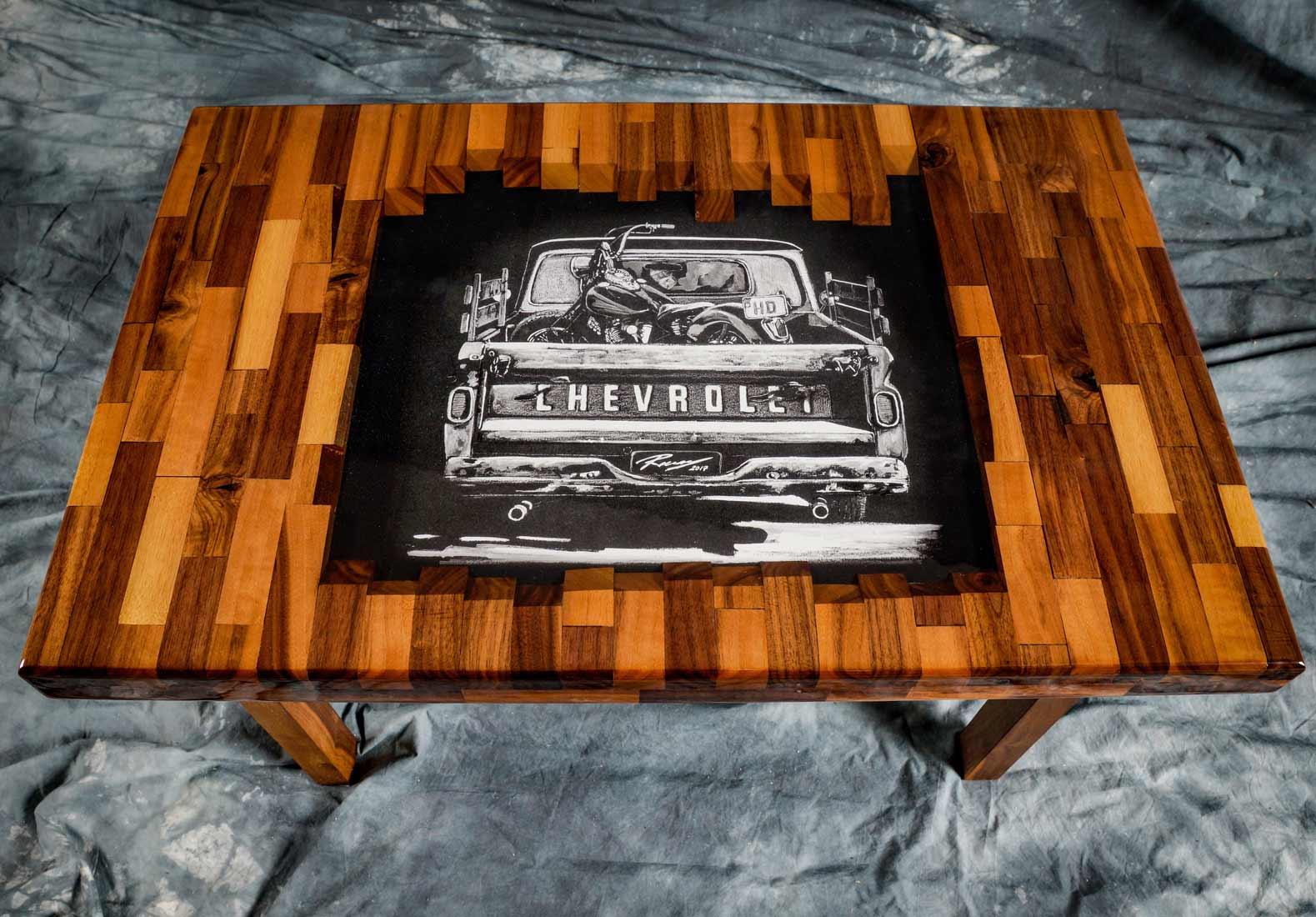 Kunstharz-Design Möbel & Schmuck in Resin / Epoxidharz-Tische als