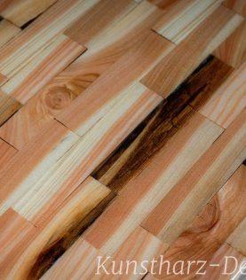 Exklusive Massivholzplatte für deinen Esstisch mit einer einzigartigen Maserung