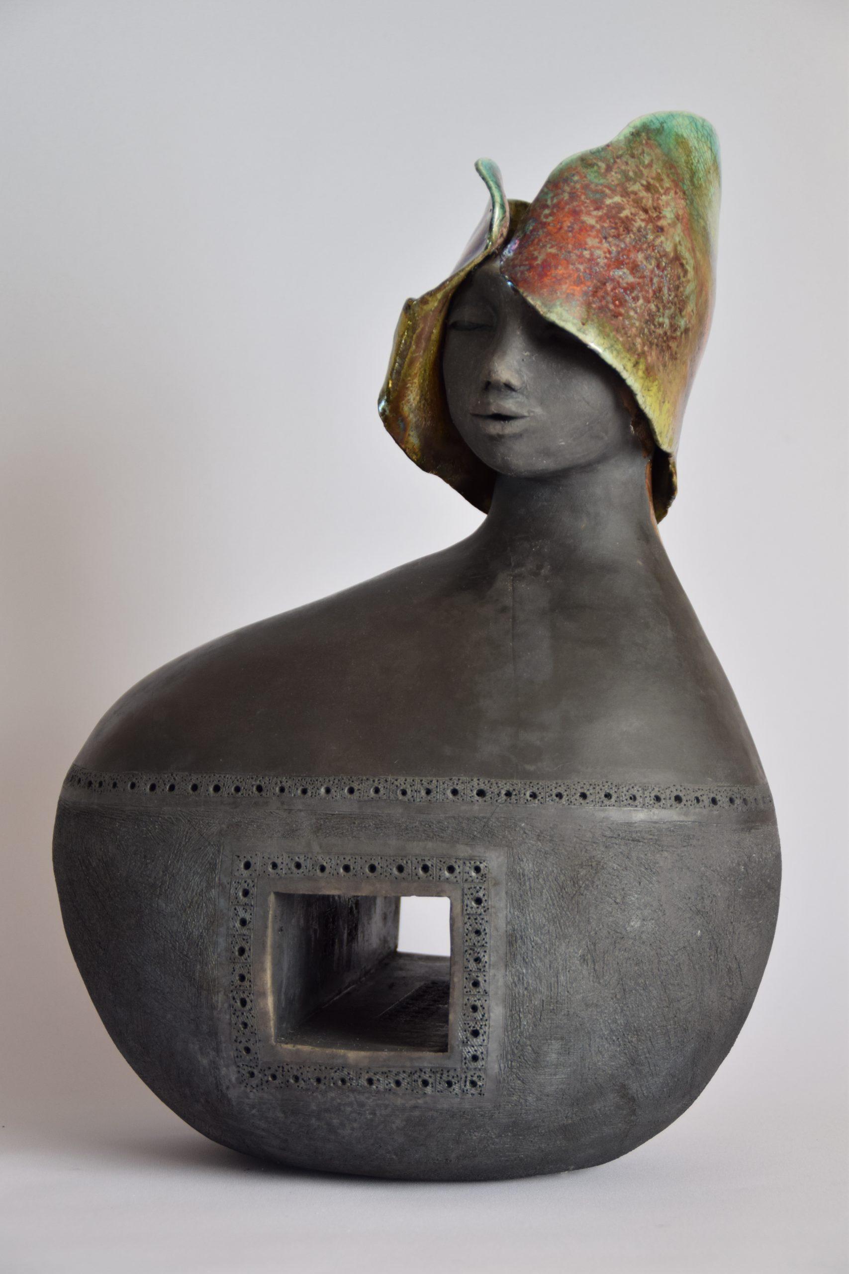 Tunnelvisie - Keramiek - 45 x 30 cm