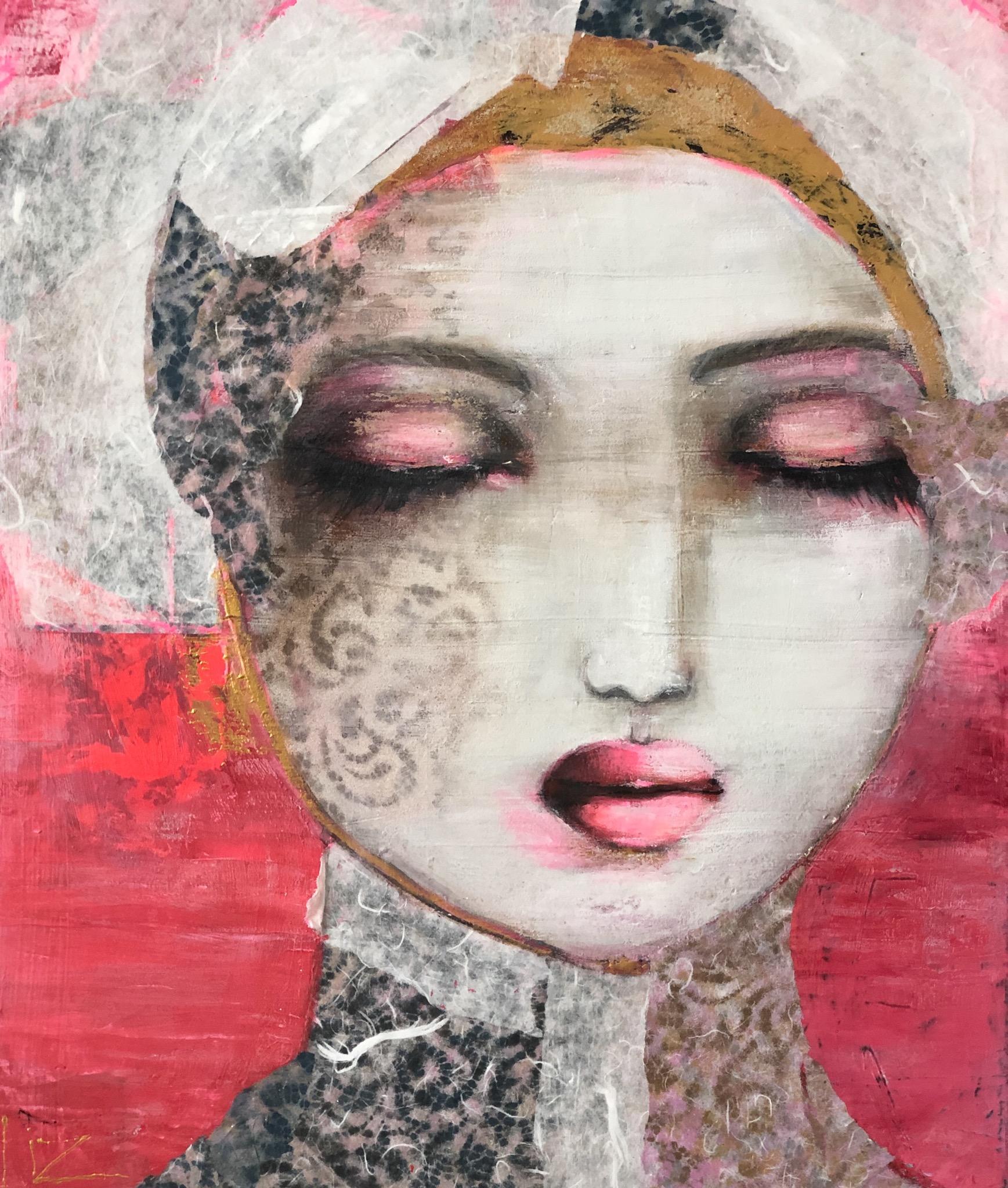 Miyah - Acrylverf - 60 x 50 cm