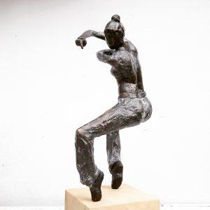 Street Dance - Brons - 50 x 31 cm