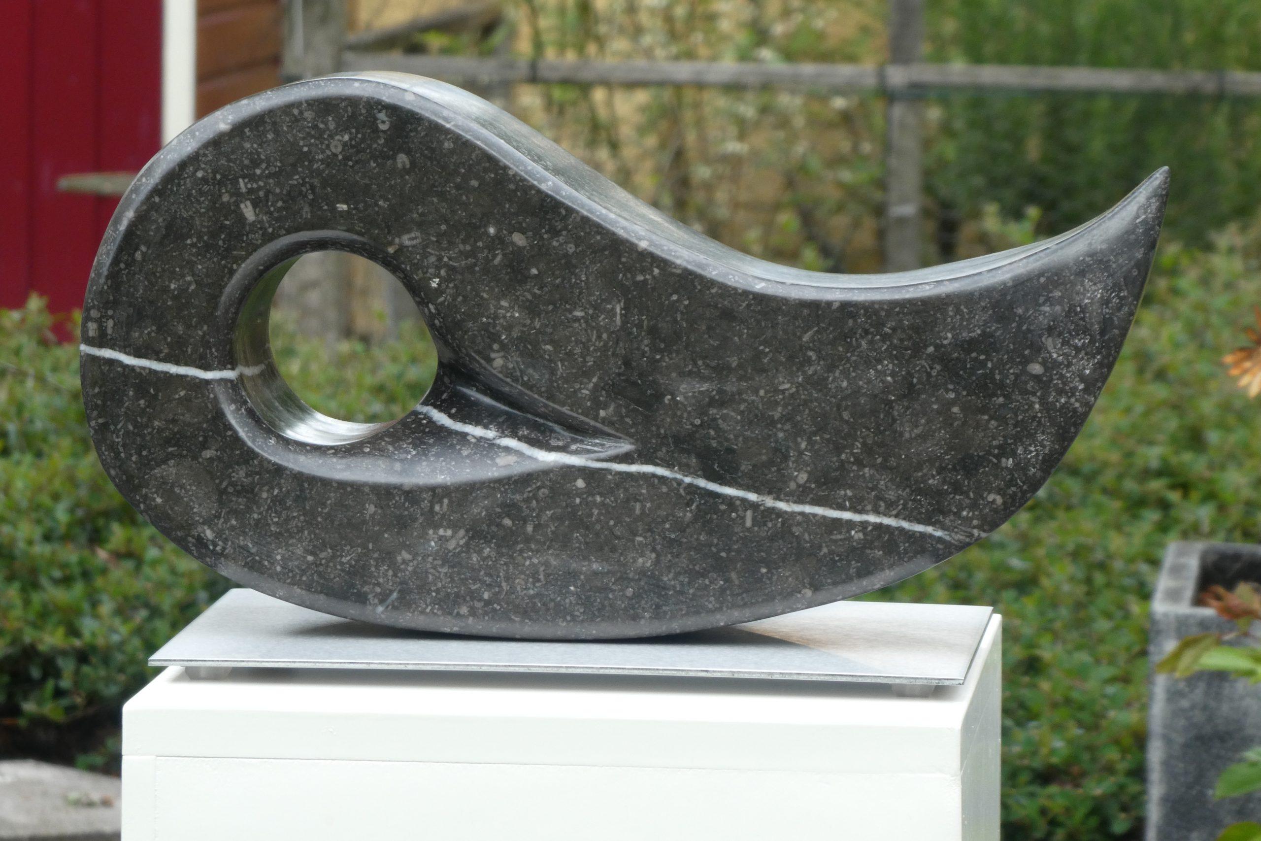 De Druppel - Belgisch hardsteen - 20 x 41 cm