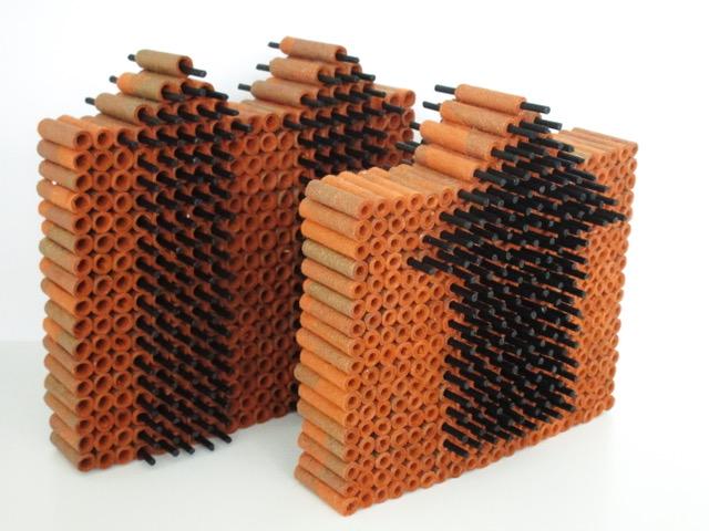 ZT - Papier en hout - 14 x 14 cm