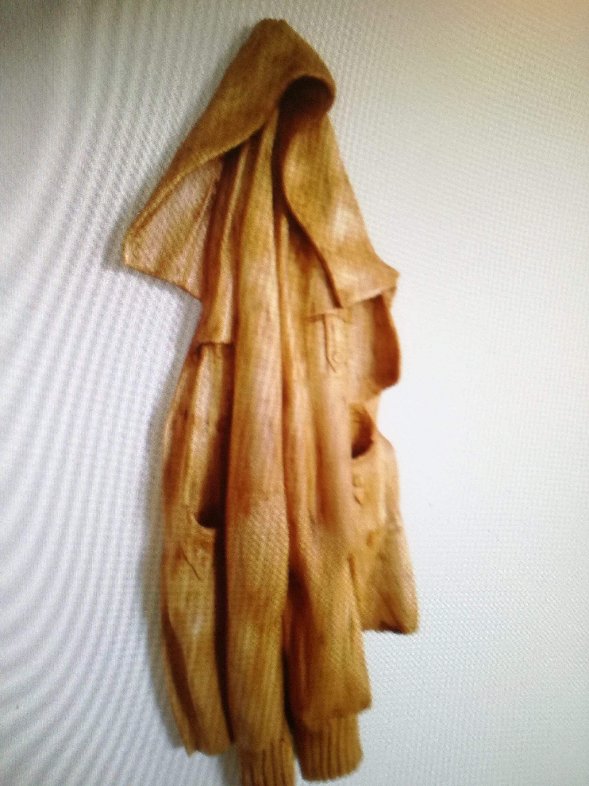 Houten Jas - Beeldhouwen - 70 x 35 cm