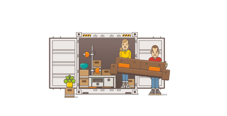 Huur een opslagruimte voor meer plaats thuis