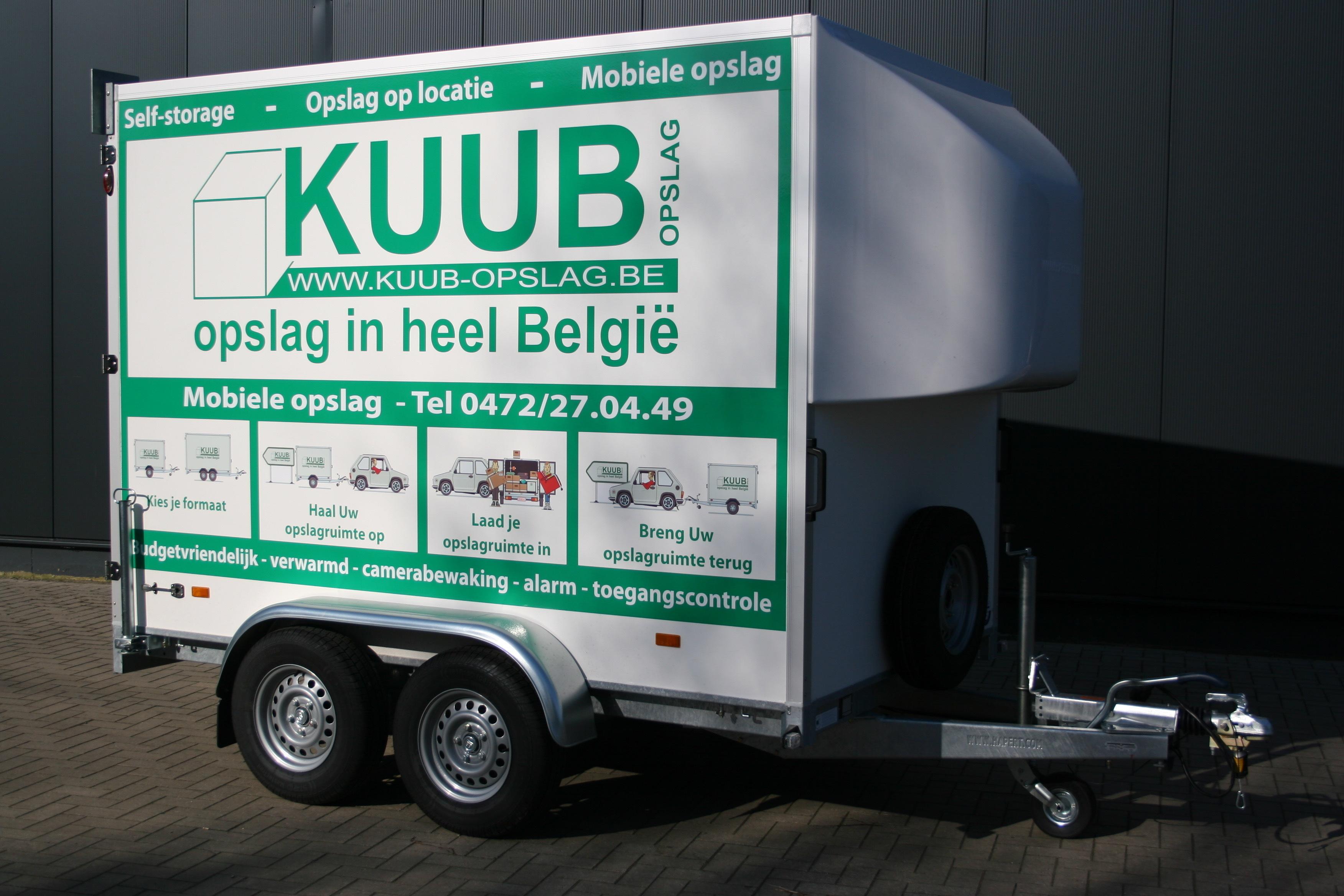 Mobiele Opslagruimte van Kuub is ook beschikbaar in 8 kubieke meter